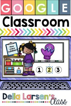 Increase skills in counting syllables with Google Classroom. Perfect for use during digital reading groups and word work in literacy centers. Teach reading during remote leamote learning Teaching Reading, Fun Learning, Phonological Awareness, Reading Groups, Syllable, Google Classroom, Word Work, Literacy Centers, Kindergarten