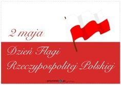 Dzień Flagi - napis - Printoteka.pl Flag, Education, School, Mini, Historia, Science, Onderwijs, Learning, Flags