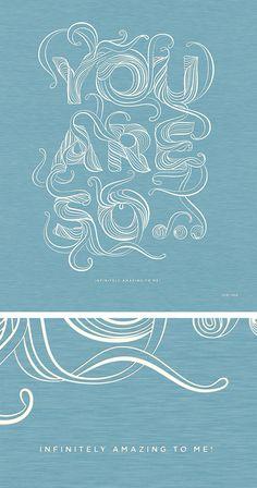Lettering by Stellavie (Germany-based design practice of Steffen Heidemann and Viktoria Klein)