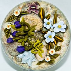 "Paperweight, ""Desert Garden"" by Cathy Richardson."