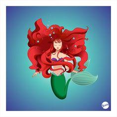Chelli Reyes Quezon City, Philippines Mermaid on Behance