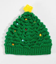 Festive Christmas Tree Hat