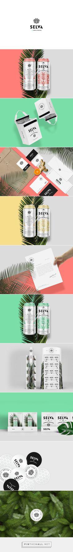Selva Jungle Cocktail Packaging on Behance | Fivestar Branding – Design and…