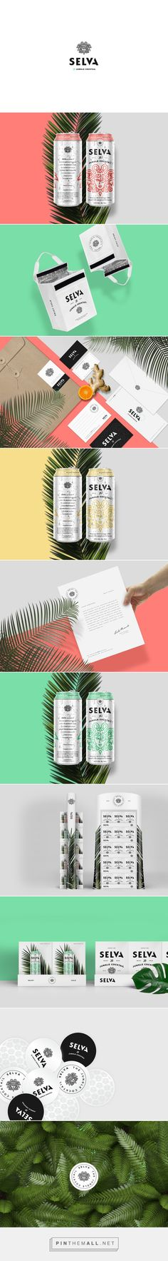 Selva Jungle Cocktail Packaging on Behance | Fivestar Branding – Design and Branding Agency & Inspiration Gallery