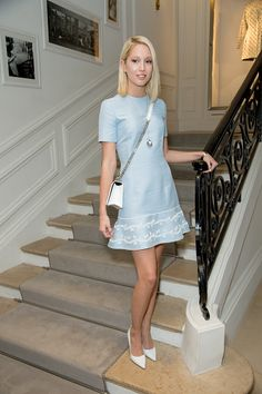 Princess Maria Olympia of Greece attends the Christian Dior Haute Couture Fall/Winter 2016-2017 show as part of Paris Fashion Week July 4, 2016 in Paris, France