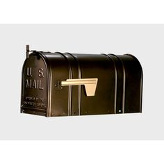 Postal Pro 8.5-in X 11-in Metal Antique Bronze Post Mount Mailbox Pp150sab