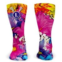 Lacrosse Printed Mid Calf Socks only at LuLaLax.com!