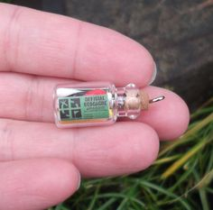 Squeezed with a Message in a Bottle | 19 Ridiculously Creative Geocache Containers