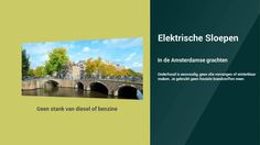Luxe elektrische sloep huren in Amsterdam