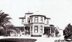 historical picture of olive ave REDLANDS California | John Hosking