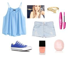 """""""Road Trip"""" by kittykitkat132 ❤ liked on Polyvore featuring H&M, MANGO, Converse, Topshop, Witchery and Bling Jewelry"""