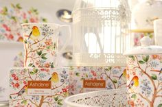 Ashdene: Tree of Life  Would look lovely with my small collection of white birdcages.