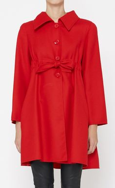 Valentino Red Coat | VAUNTE
