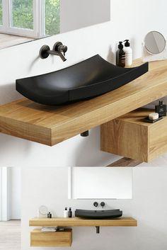Bathroom Designs, Bath Caddy, Loft, Inspiration, Travertine, Bathroom Sinks, Bathroom Interior, Guest Toilet, Natural Stones