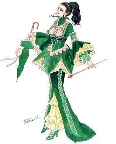 Granado Espada - Female Wizard Concept