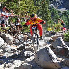 Amanda Batty likes to get rowdy on her bike. Read her profile here.  – Gnarly Nutrition #bike #mountainbike