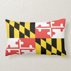 Full Maryland Flag Throw Pillow dyi fathers day gifts from kids, mothers day and fathers day, dad gifts diy birthday 1st Fathers Day Gifts, Easy Fathers Day Craft, Homemade Fathers Day Gifts, Diy Gifts For Dad, Diy Father's Day Gifts, Father's Day Diy, Dad Gifts, Lumbar Throw Pillow, Throw Pillows