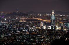 남한산성 에서보는 야경 | Daum 루리웹 seoul city night view