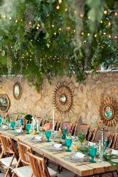 Carmen Rebuelta ideas cena navidad, decoracion boda, madera