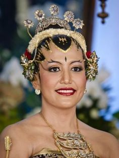 Javanese woman. GKR Hayu of Kraton Yogyakarta.