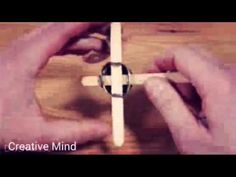 How to make mini crossbow Crossbow, Mindfulness, Mini, Creative, Youtube, How To Make, Consciousness, Leaf Spring, Youtubers