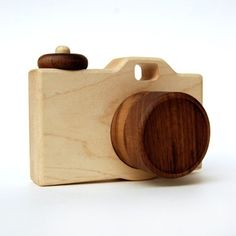 handmade wooden camera toy....<3callie