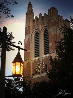 Beaumont Tower at Michigan State University, East Lansing, Michigan