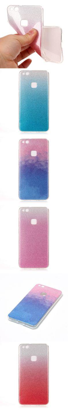 For Huawei P10 Lite Case Silicone Glitter Phone Cover For Huawei P10 Lite Cases Huawei P10 Lite Soft TPU Shiny Back Fundas