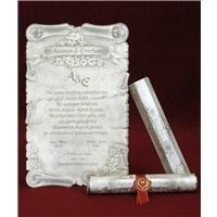 5301 Düğün, Nikah Davetiyesi