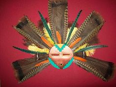 Kachina Spirit Mask Southwest Decor Mask Wall Art | eBay