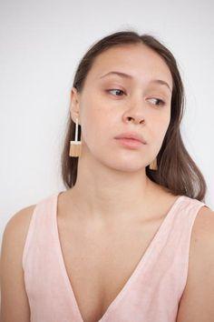 Hannah Keefe Low T Earring