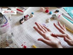 Cabeza Olfa fondant tutorial - YouTube