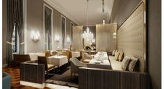 luxury and modern dinning room