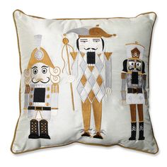 Found it at Wayfair - Holiday Embroidered Nutcrackers Throw Pillow http://www.wayfair.com/daily-sales/p/Pillows-%26-Tree-Skirts-from-%2415-Holiday-Embroidered-Nutcrackers-Throw-Pillow~PWP3866~E16008.html?refid=SBP