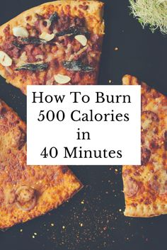 How To Burn 500 Calo