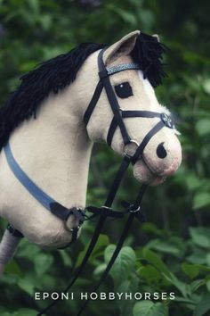 Hobby Horses – Beyond Just Toys! Hobbies For Adults, Stick Horses, Horse Bridle, Hobby Toys, Pretty Horses, Stuffed Animal Patterns, Middle Ages, Photo And Video, Artist