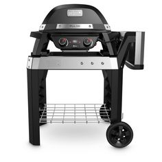 Buy Weber Pulse 2000 Electric BBQ Grill with Cart at Argos. Thousands of products for same day delivery or fast store collection. Electric Barbecue Grill, Grilled Veggies, Argos, No Cook Meals, Grilling, Barbecues, Cart, Electric Bbq Grill, Rolling Carts