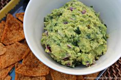 chipotle guacamole recipe.