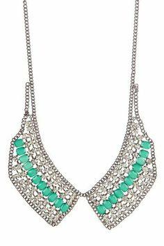 Jewel Collar Necklace.