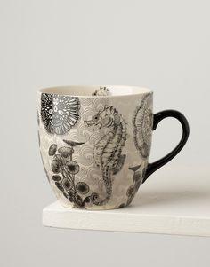 SEA HORSE XL mug | Mugs/cups | null | INDISKA Shop Online