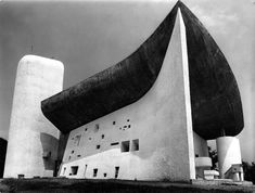 Notre Dame du Haut, Ronchamp, France, 1955 / Le Corbusier This building sparked my career in architecture :)