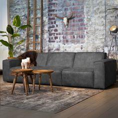 Sevn Bank 'Amarillo' 5-zits, kleur antraciet #meubelen #bankstel