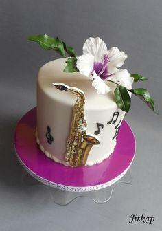 Saxophone cake - Cake by Jitkap