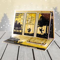 Twilight Kingdom - Luxury Topper Set - Mystic & Merry - A Magical Christmas - Twilight Kingdom Card Kit - Foiled Christmas Card - Magical Christmas, Christmas Wishes, Christmas Cards, Hunkydory Crafts, Snow Much Fun, Little Books, Card Kit, Blank Cards, Christmas Inspiration