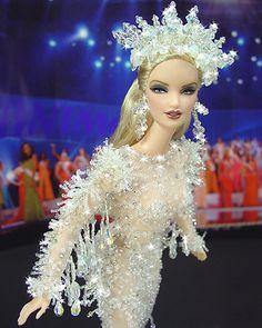 OOAK Barbie NiniMomo's Miss Alaska 2009