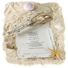 Bash Corner - http://www.bashcorner.com/captivating-beach-wedding-invitations/