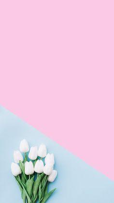 69 Super Ideas For Makeup Wallpaper Iphone Pictures Wallpaper Pastel, Frühling Wallpaper, Blue Wallpaper Iphone, Flower Phone Wallpaper, Spring Wallpaper, Blue Wallpapers, Trendy Wallpaper, Iphone Wallpapers, Pink Background Wallpapers