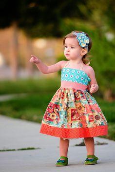 Little Lizard King - Sewing Patterns : Elise Dress, Sewing Pattern, Sew-A-Long, Day 5