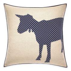 ED Ellen DeGeneres Goat Dot Throw Pillow - BedBathandBeyond.com