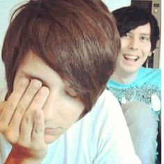 Hi these are the people that my entire universe revloves around. danisnotonfire and amazingphil